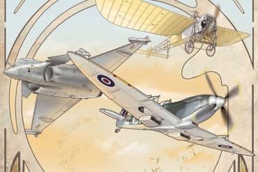 Affiche ''51e Salon de l'aéronautique et de l'espace 2015''